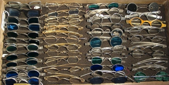 ohs assortment of spectacles 19th century