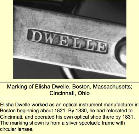 OHS marking of Elisha Dwelle