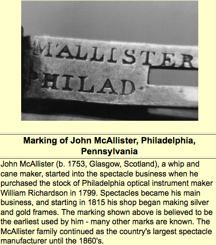 ohs marking of John McAllister