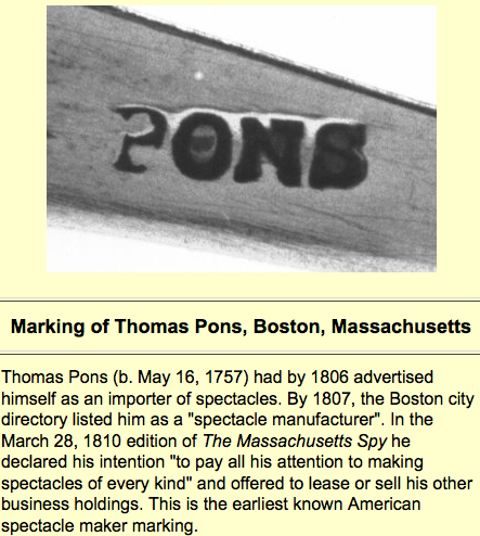 ohs  marking of Thomas Pons